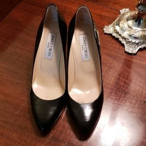 Size 38.5 Jimmy Choo black pumps